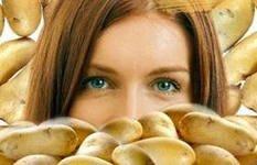 Маски для лица из протертого картофеля