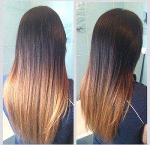 Осветлить волосы после хны