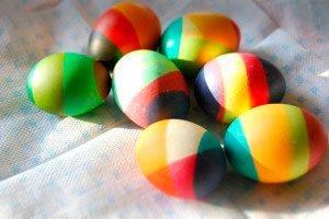 Как покрасить яйца к пасхе в домашних условиях