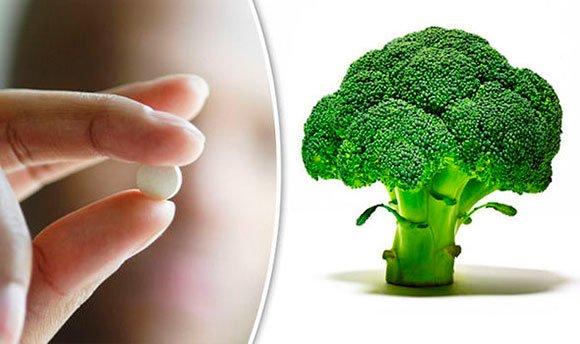 Брокколи - таблетки для предотвращения инсульта